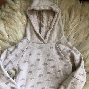 ZARA Toddler Girls 2/3 YEARS Sweater Hooded